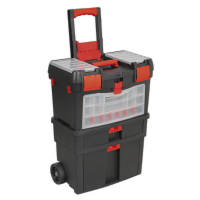 Mobile Tool chest with Tote Tray & Removable Storage Box. AP850